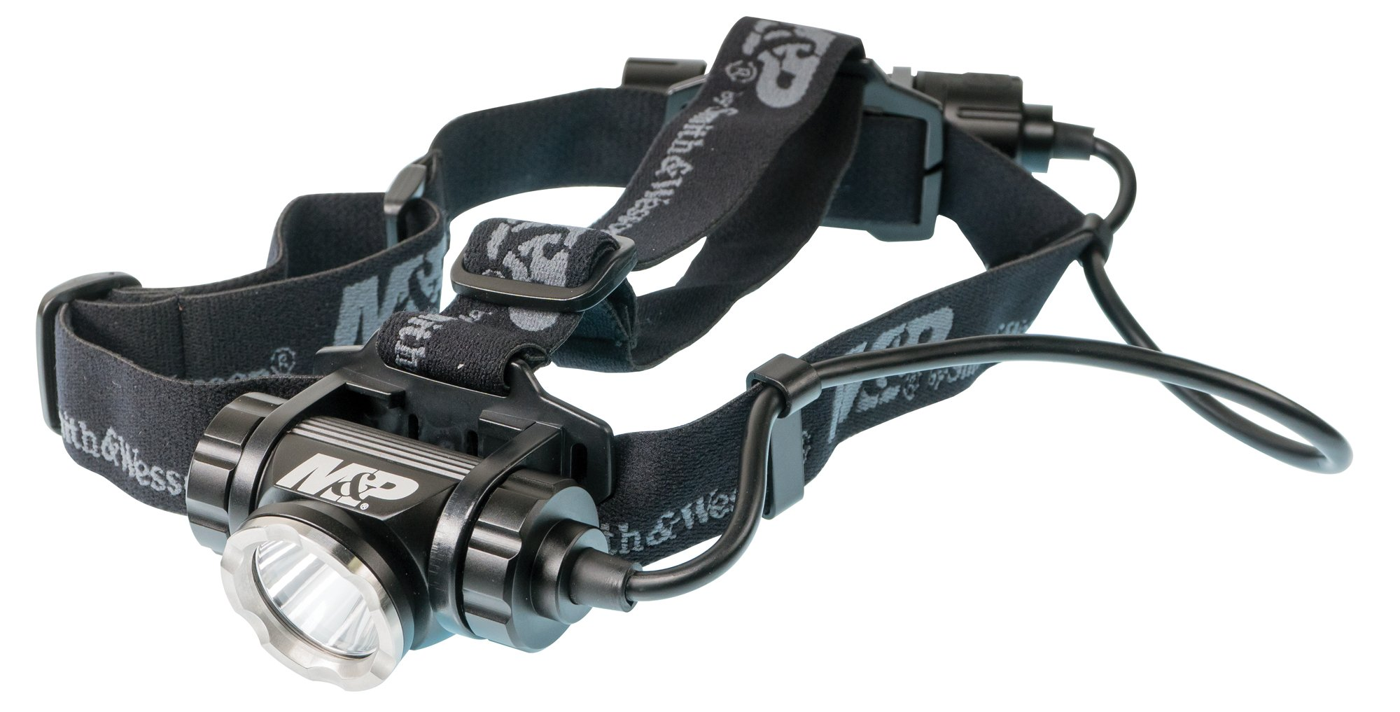 M&P by Smith & Wesson Delta Force HL-20 CREE Headlamp 870 Lumens 7 Mode Waterproof Lightweight Rechargeable Tactical Hunting Camping Hiking Fishing Self-Defense