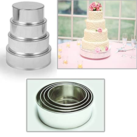 Review 4 Tier Round Multilayer
