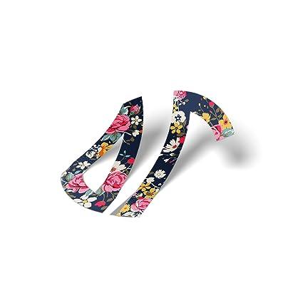 Gamma Phi Beta Monogram In Floral Sticker 3 Inch Sorority