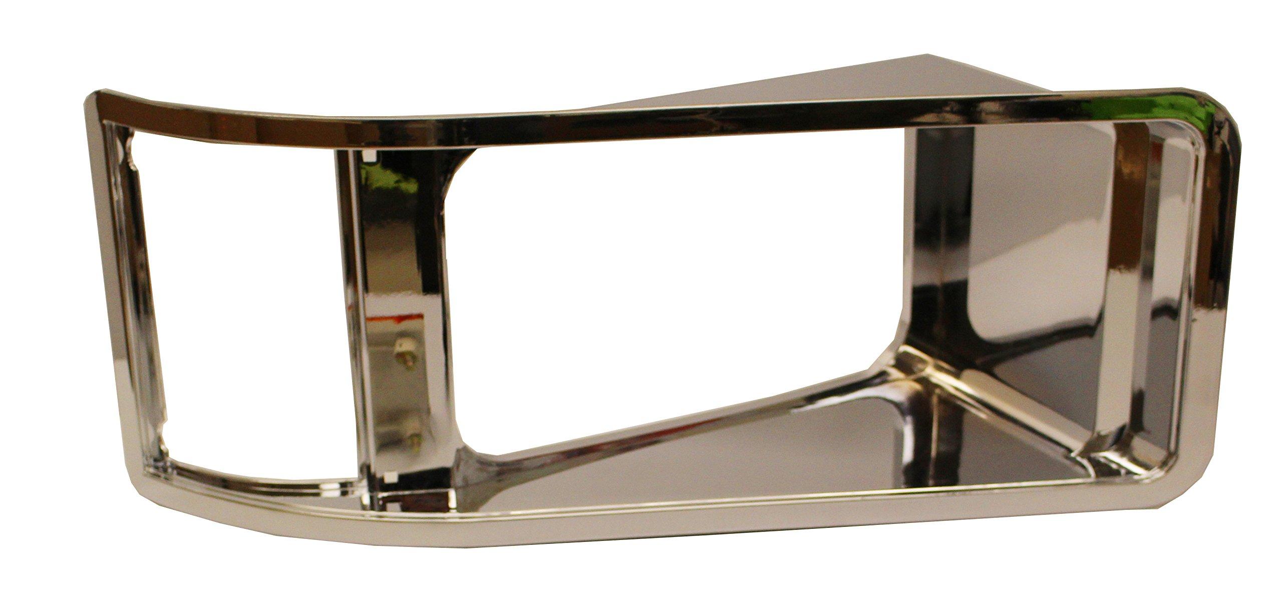 Inset Bezel Chrome - Passenger Side (Fit: Mack CH613 SBA) by NIUPARTS