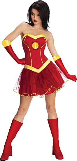 Rubies – Disfraz Oficial de Marvel Miss Iron Man Rescue, Disfraz ...