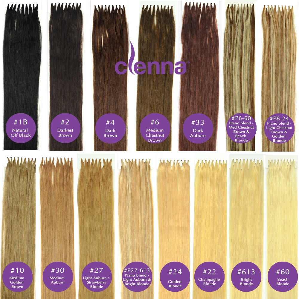 Amazon 24 Inch I Tip Stick Tip Cold Fusion Hair Extensions