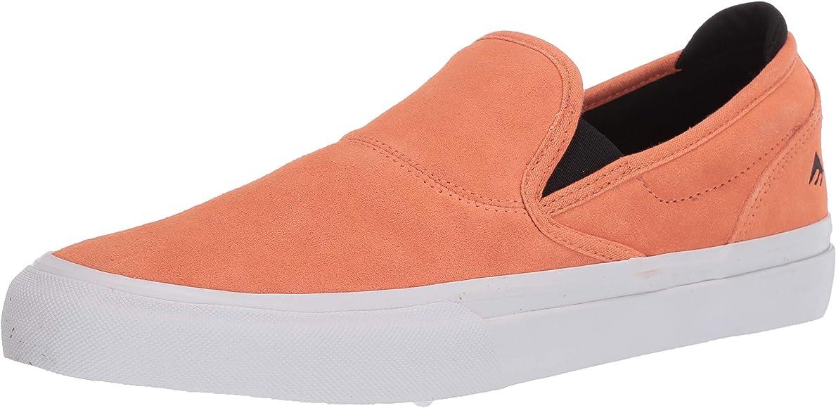 Wino G6 Slip-ON Skate Shoe, Peach, 4 UK