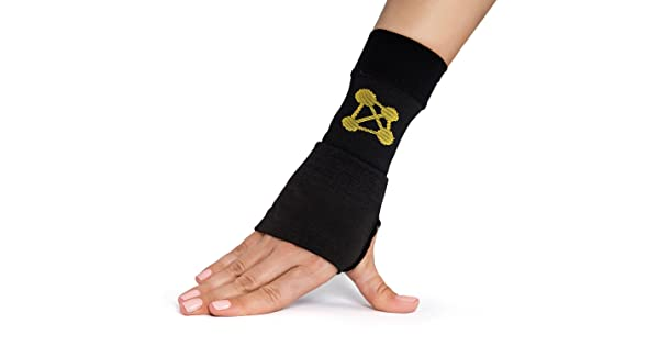 80f9dd5f12 CopperJoint Copper Wrist Support, #1 Compression Sleeve - GUARANTEED  Recovery from Pain, Sprains, Carpal Tunnel, Bursitis, Tendonitis, Arthritis  - Single