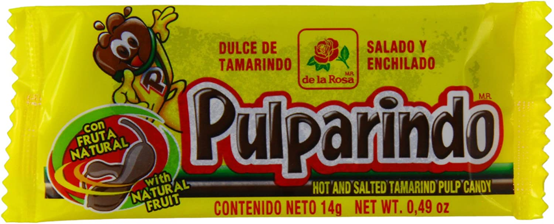 Pulparindo Tamarindo Pulp Candy Dulce 14g (Paquete de 20): Amazon.es: Alimentación y bebidas