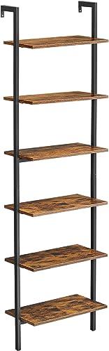 VASAGLE Industrial Ladder Shelf - a good cheap modern bookcase