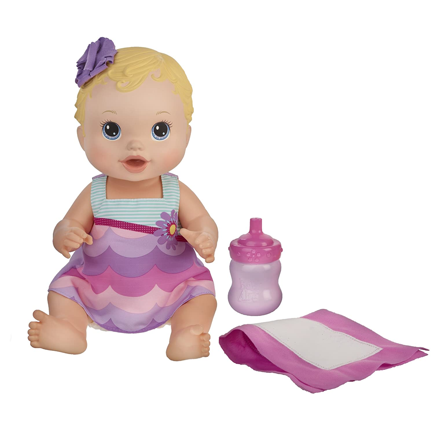 Amazon Baby Alive Bitsy Burpsy Baby Doll Toys & Games