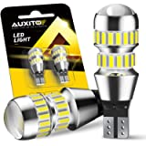 AUXITO 912 921 LED Bulbs for Backup Reverse Light Bulbs, 2600 Lumens 4014 42-SMD, 6000K White, Non-polarity 906 W16W T15…