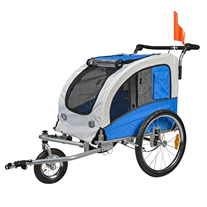 Amazoncom Buyhive Pet Bike Trailer Dog Cat Bicycle Carrier