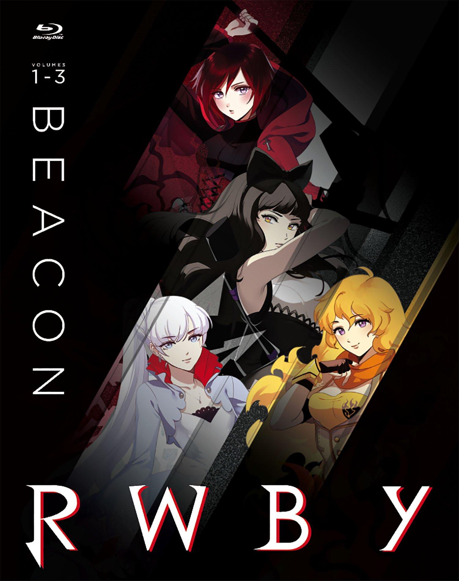 Blu-ray : RWBY, Vol. 1-3: Beacon (Steelbook, 3 Pack, Widescreen, 3 Disc)