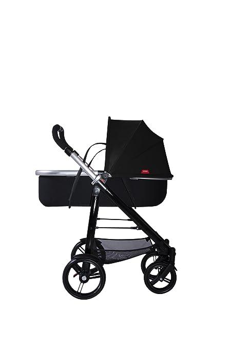 Amazon.com: Phil & Teds Smart Compact carriola, color negro ...
