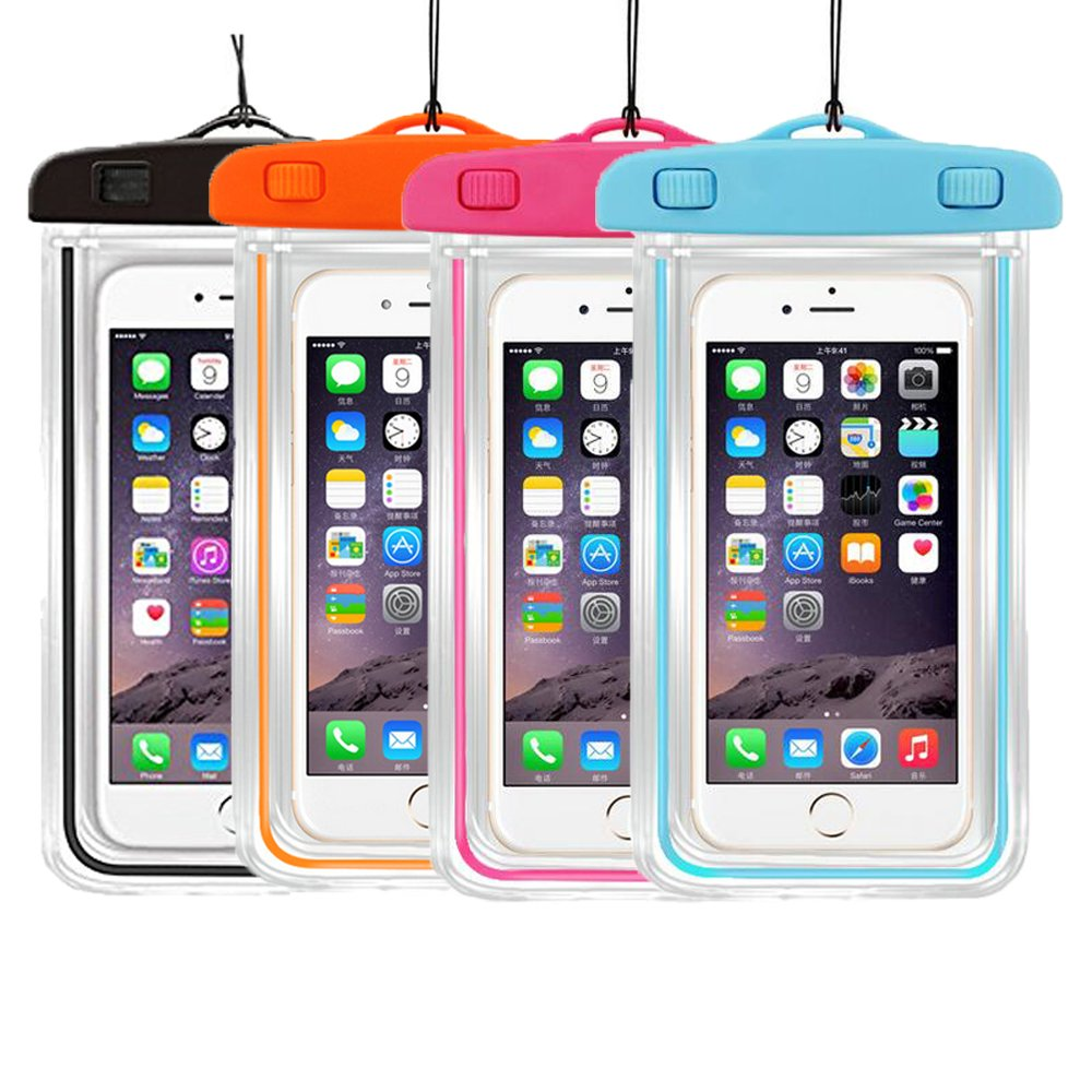 【絶品】 3 Packuniversal浮く防水ケースケースドライバッグCaseHigh waterproof Pack waterproof Shop透明カバーカラーSubmersible for Cellphones [ 5.8インチバンパーケースファッションデザイン(3 Pack :ブラック+オレンジ+グリーン B01HUIW3ZY waterproof 4Pack-Black+Orange+Pink+Blue waterproof 4Pack-Black+Orange+Pink+Blue, ツノチョウ:9f11f715 --- mail.mrplusfm.net