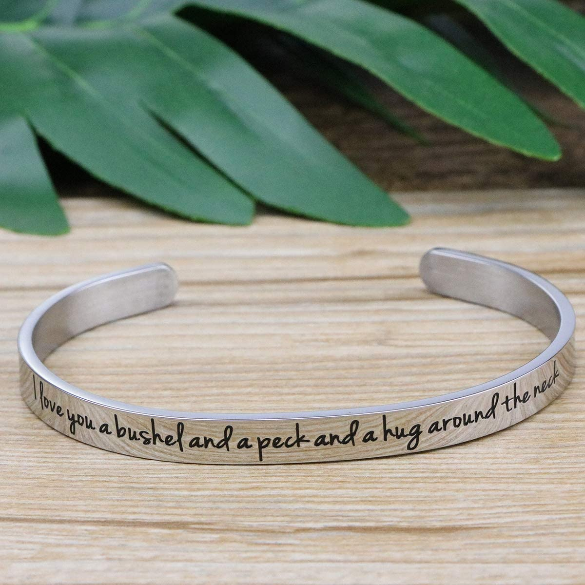 Awegift Memorial Jewelry Remembrance Loss of Mom Dad Father Mother Necklace Bracelet Sympathy Gift
