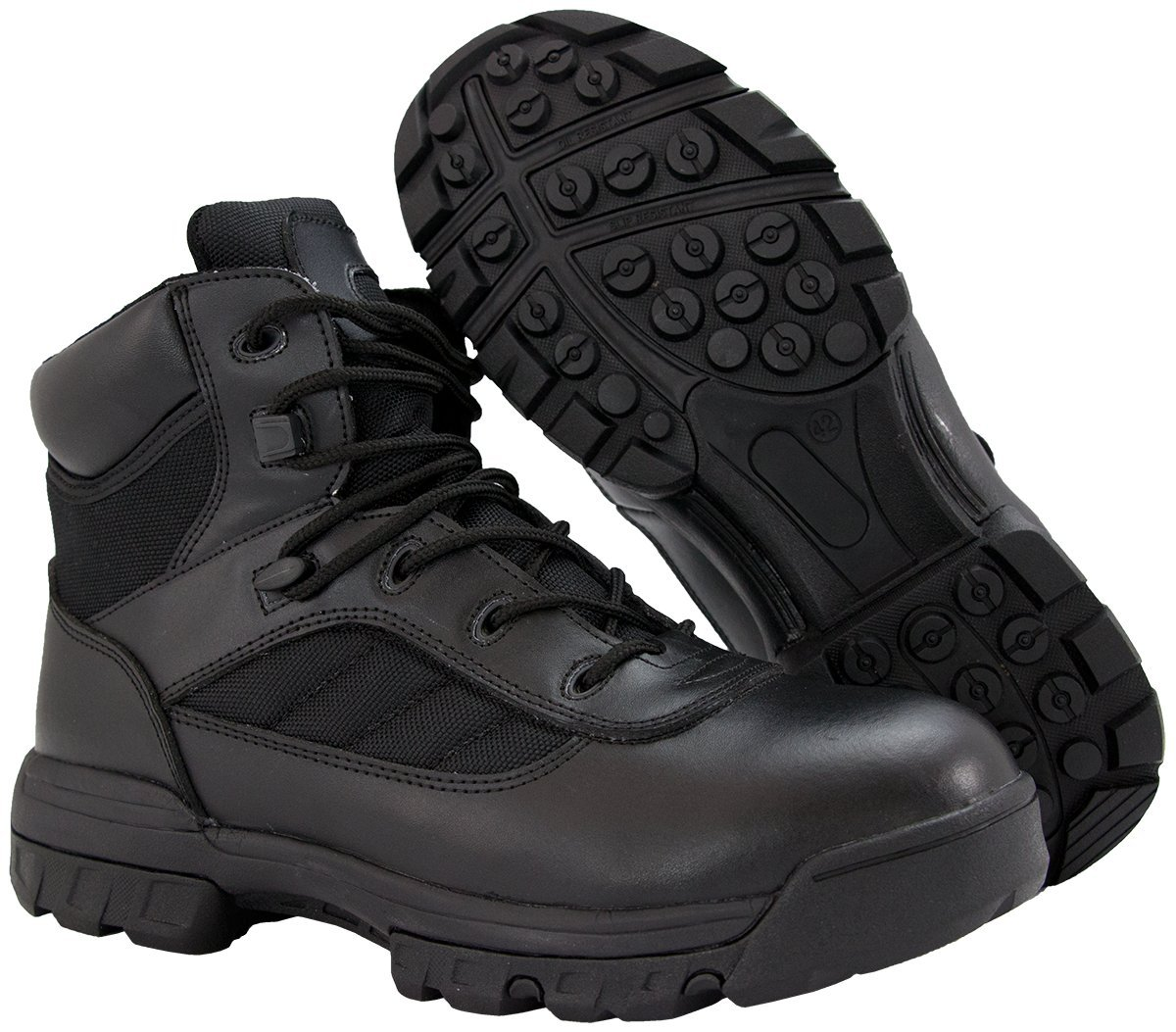 Ryno Gear Tactical Combat Boots with CoolMax Lining (Black)