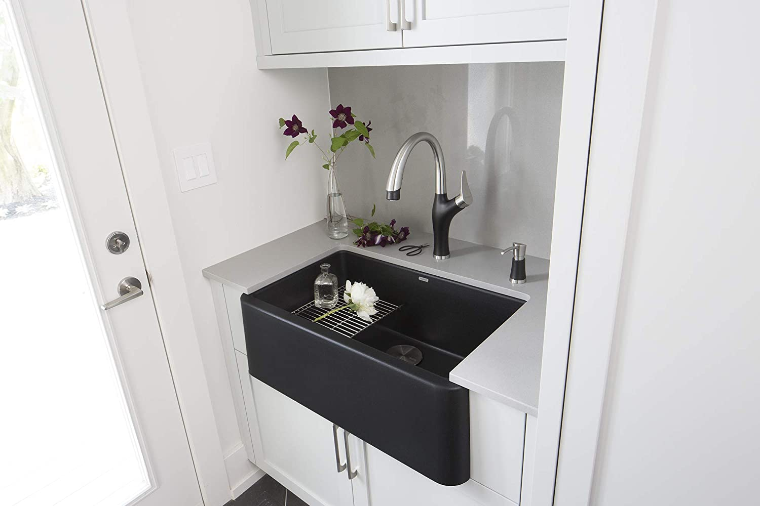 2 2 Gpm Blanco 442029 Artona Pull Stainless Kitchen Faucet
