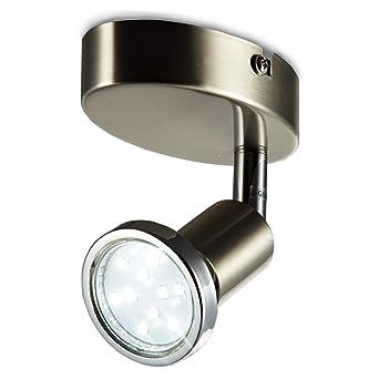 LED Wandspot schwenkbar 230V GU10 IP20 LED Wandleuchte Deckenlampe ...