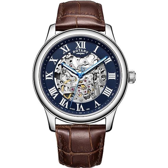 Reloj para Hombre Rotary Exclusive Skeleton GS00625/05: Amazon.es: Relojes