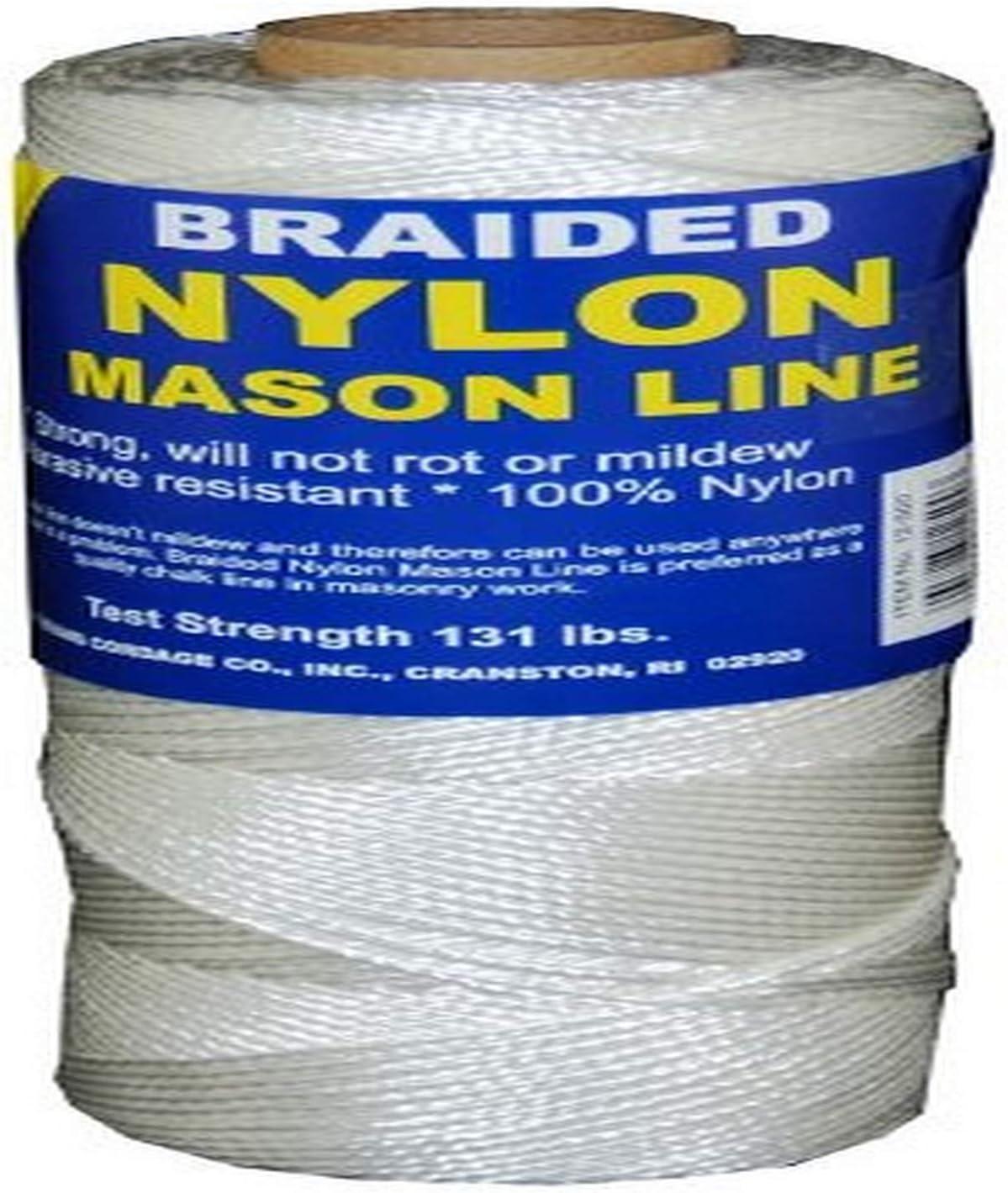 250-Feet T.W Evans Cordage 12-250 Number-1 Braided Nylon Mason Line