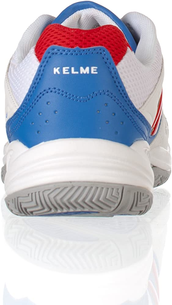 Kelme Zapatillas Casual Amazon Padel Blanco/Royal 39: Amazon.es ...