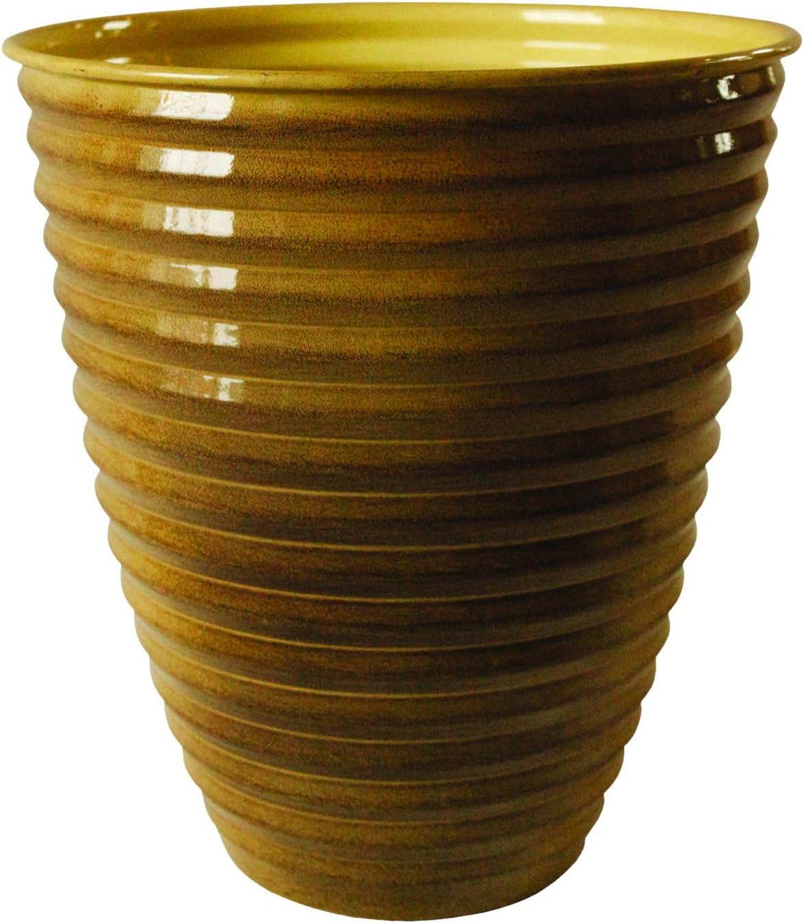 "Robert Allen MPT01973 Avondale Classic Flower Pot, 17"", Chamomile"