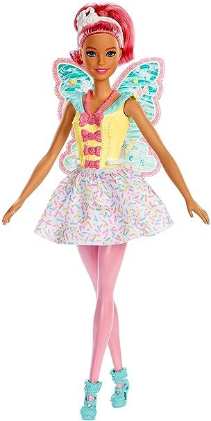 Barbie Fxt03 Dreamtopia Fee Puppe Mit Pinken Haaren Puppen