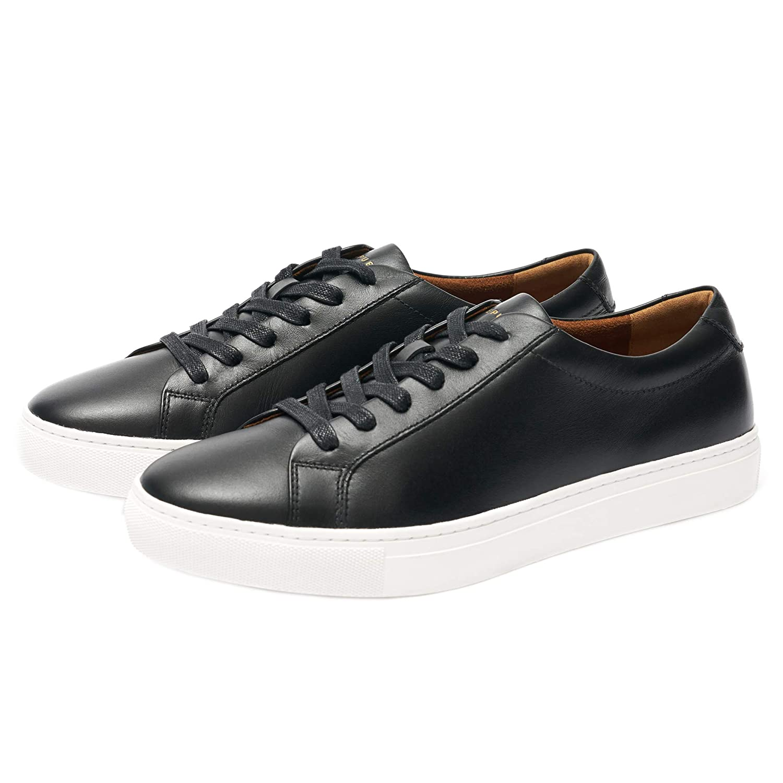 Kurt Leather Sneaker - Black