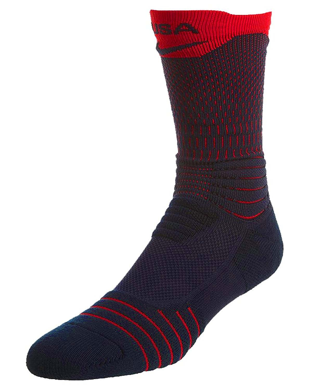 online store d563d 1c380 Nike Men Elite Versatility Basketball Crew Socks at Amazon Men s Clothing  store
