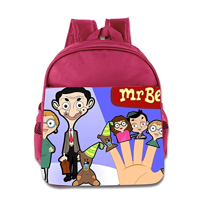 7f862f310 Toddler Kids Mr. Bean The Animated Series School Backpack Funny Baby Boys  Girls School Bags