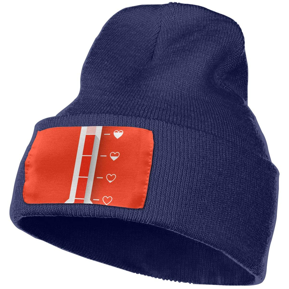 Love Thermometer Valentines Unisex Fashion Knitted Hat Luxury Hip-Hop Cap