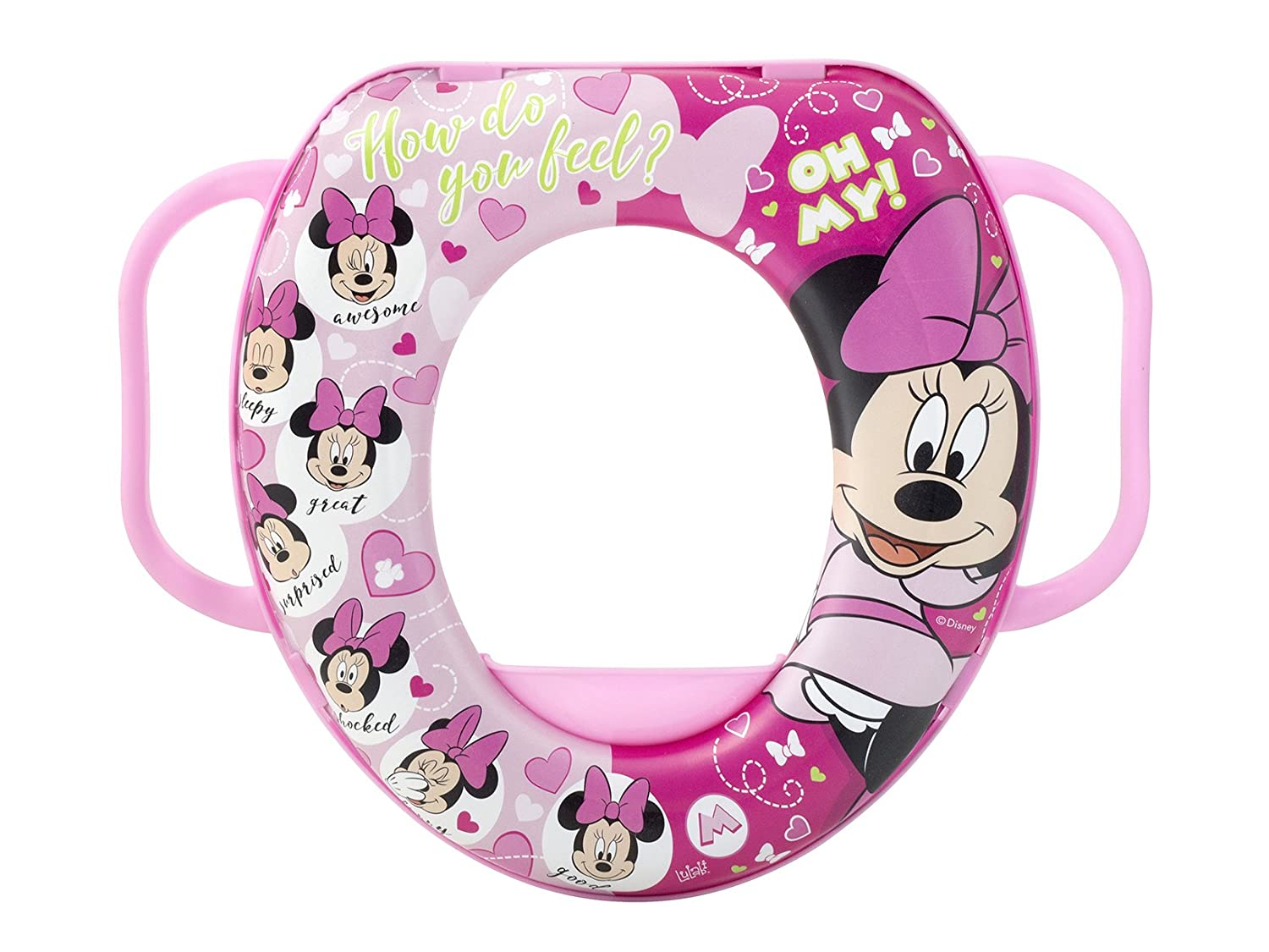 lulabi 8021 Disney Minnie réducteur WC Soft, multicolore 5600