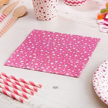 Pappteller Polka Dots rot 8 Stück Einwegteller Hochzeit Partyteller 23 cm
