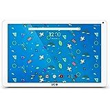 "SPC Heaven - Tableta de 10.1"" (Quad Core Cortex A53 1.3 GHz, memoria interna 32 GB, 2 GB de RAM, IPS HD, Android 7.0) blanco"