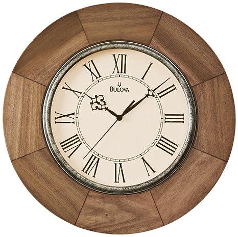 Buy Bulova Dakota Deco Wall Clock - C4223 Online at Low Prices in ...