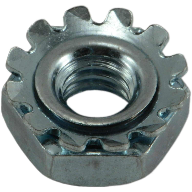 Hard-to-Find Fastener 014973268404 8-32-Inch Coarse Kep Lock Nuts, 100-Piece