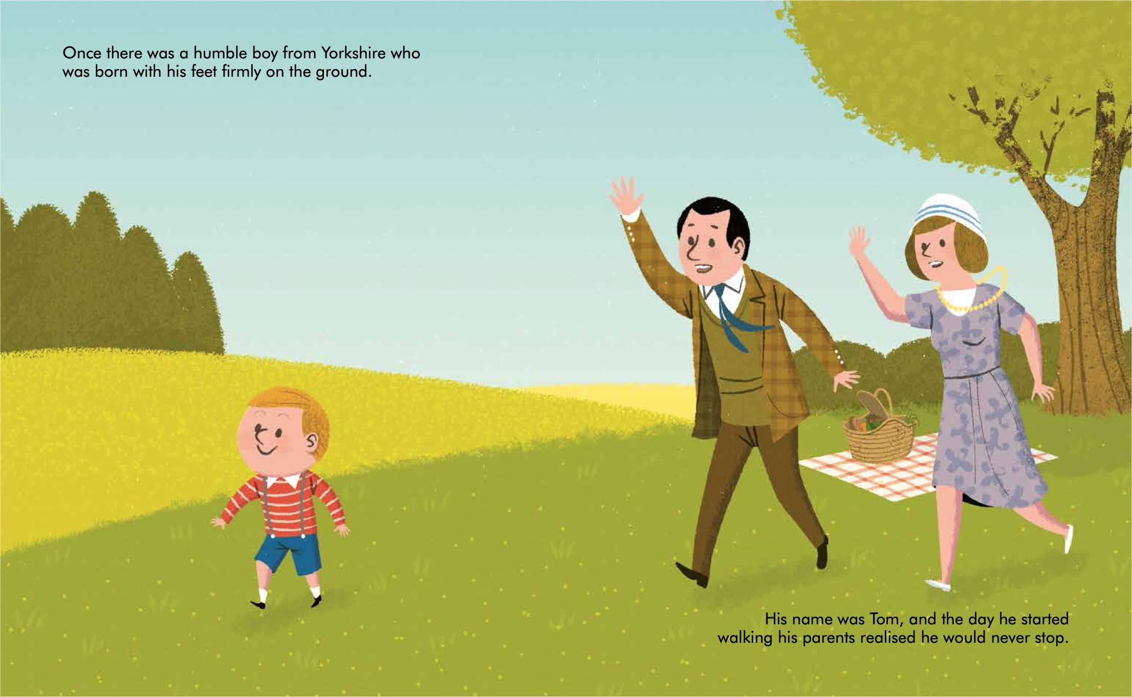 Captain Tom Moore (51) (Little People, BIG DREAMS): Amazon.co.uk: Sanchez  Vegara, Maria Isabel: Books
