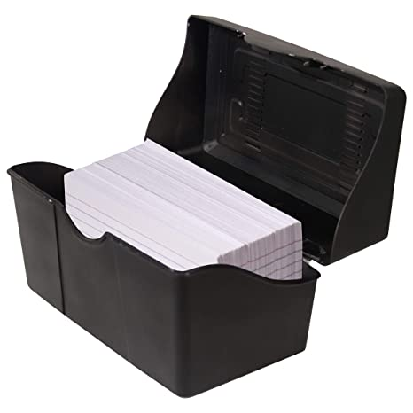 Amazon.com: Advantus (45003) estuche para tarjetas 5 x ...