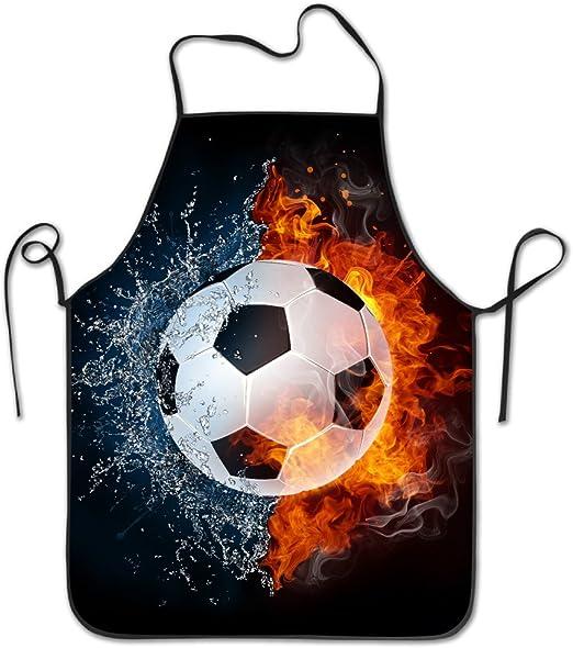 Tyrence Balón de fútbol On Fire agua ajustable delantal para ...