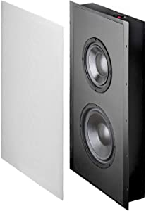 "OSD Audio 300W in-Wall Trimless Home Theater Subwoofer – 8"" Woofer - SL800D…"