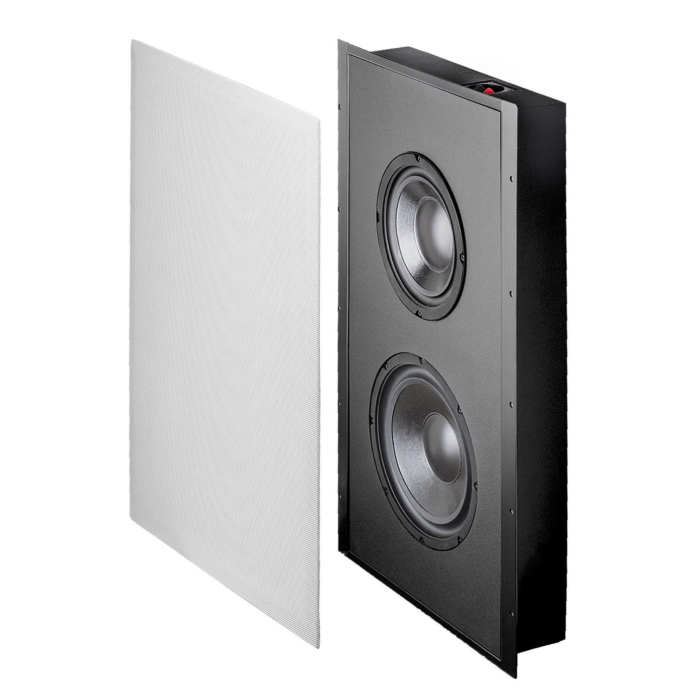 OSD Audio 300W In-Wall Trimless Home Theater Subwoofer - 8'' Woofer - SL800D