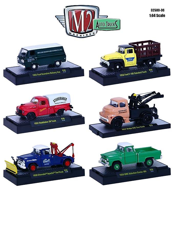 Amazon Auto Trucks 6 Piece Set Release 36 In Display Cases 164