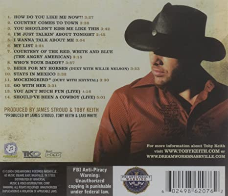 Toby Keith Toby Keith Greatest Hits 2 Amazon Music