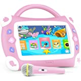 """iView Sing Pad 711TPC, 7"""" Kids Tablet with WiFi, Microphone, Preloaded Childrens"""