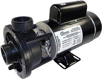 Amazon Com 1 5 Hp 115v 2 Speed Waterway Spa Pump 1 1 2 Center Discharge 3420610 15 Home Improvement
