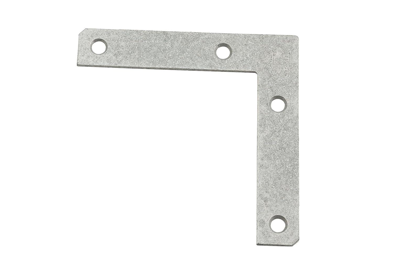 Stanley Hardware S757 022 CD999 Flat Corner Iron in Galvanized 2 pack