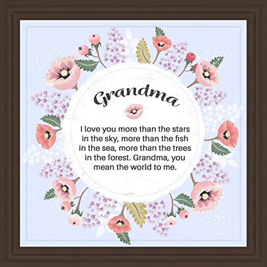 Amazon Com Gifts For Grandma 7x7 Tile Artwork Presents For