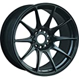 "XXR Wheels 527 Chromium Black Wheel with Painted Finish (17x7.5""/4x98.4mm, +40mm offset)"