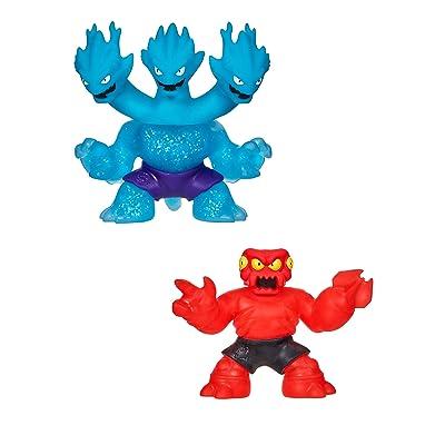 Heroes of Goo Jit Zu-Redback and Ultra Rare Hydra Hero Pack: Toys & Games