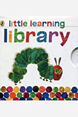 Little Learning Library: Animal Sounds, Words, Numbers & Colours (Set of 4 Books) Board book