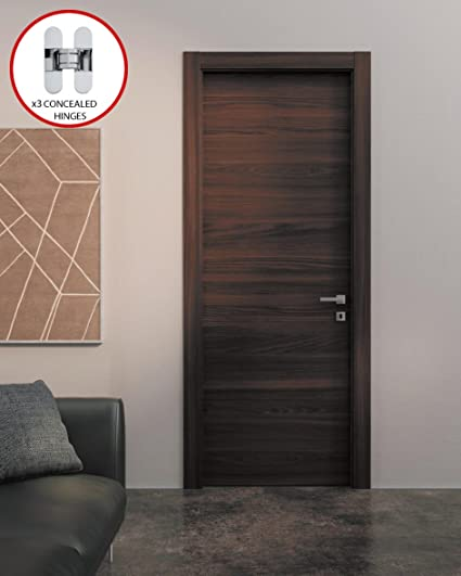 Superieur Planum 0010 Interior Door Chocolate Ash Without Casings (30u0026quot; X  80u0026quot;, ...