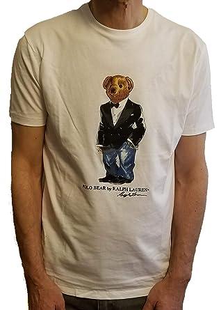 72990e832d7a3 Amazon.com  Polo Ralph Lauren Mens Limited Polo Bear T-Shirt  Clothing